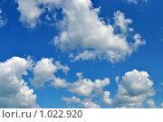 Купить «Небо и облака», фото № 1022920, снято 13 июля 2009 г. (c) Александр Гаврилов / Фотобанк Лори