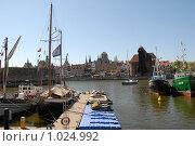 Купить «Гданьск яхтенная марина», эксклюзивное фото № 1024992, снято 1 мая 2009 г. (c) Svet / Фотобанк Лори