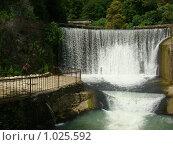 Купить «Водопад в г. Новый Афон», фото № 1025592, снято 19 июля 2009 г. (c) Елена Велесова / Фотобанк Лори