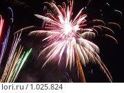 Фейерверк. Стоковое фото, фотограф Андрей Марцинкевич / Фотобанк Лори