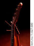 Купить «Гриф гитары (без наклона)», фото № 1027680, снято 10 марта 2009 г. (c) Виталий Хайруллин / Фотобанк Лори