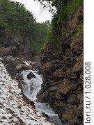 Купить «Горный ручей на вулкане Дзендзур, Камчатка», фото № 1028008, снято 6 августа 2006 г. (c) Кузнецов Андрей / Фотобанк Лори