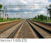 Купить «Дорога в Москву», фото № 1029272, снято 11 июня 2009 г. (c) Александр Бурмистров / Фотобанк Лори