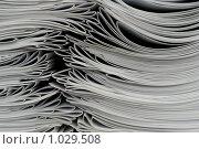 Купить «Тираж печатной продукции», фото № 1029508, снято 15 апреля 2009 г. (c) Александр Бурмистров / Фотобанк Лори