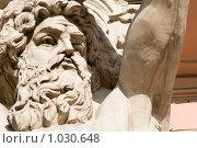 Купить «Атлант. Дворец Белосельских-Белозерских. Санкт-Петербург», эксклюзивное фото № 1030648, снято 6 августа 2009 г. (c) Александр Щепин / Фотобанк Лори