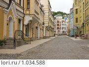 Киев, строящийся фешенебельный городок. Стоковое фото, фотограф Алексей Котлов / Фотобанк Лори