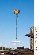 Купить «Облако на нитке...», фото № 1037772, снято 16 августа 2009 г. (c) Олег Ивашкевич / Фотобанк Лори