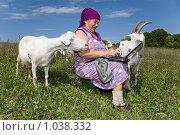 Купить «Бабушка в форуме», фото № 1038332, снято 10 августа 2009 г. (c) Юрий Викулин / Фотобанк Лори