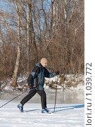 Купить «Лыжник», фото № 1039772, снято 23 марта 2019 г. (c) Stockphoto / Фотобанк Лори