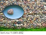 Купить «Каменная стена из булыжника», фото № 1041692, снято 7 июля 2009 г. (c) Алексей Лебедев / Фотобанк Лори