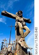 Купить «Гора крестов», фото № 1043840, снято 29 июня 2009 г. (c) Алексей Лебедев / Фотобанк Лори