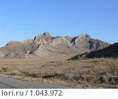 Купить «Гора Уттуг-Хая», фото № 1043972, снято 8 октября 2008 г. (c) Виталий Матонин / Фотобанк Лори