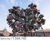 Купить «Замочное дерево», фото № 1044740, снято 5 января 2007 г. (c) Олег Ивашкевич / Фотобанк Лори