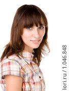Портрет молодой девушки. Стоковое фото, фотограф Леонид Козлов / Фотобанк Лори