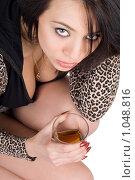 Купить «Красивая девушка», фото № 1048816, снято 15 апреля 2009 г. (c) Сергей Сухоруков / Фотобанк Лори