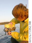 """Исследователь с подводной управляемой камерой """"ГНОМ"""" (2000 год). Редакционное фото, фотограф Наталия Шевченко / Фотобанк Лори"""