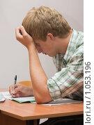 Купить «Подготовка к экзаменам», фото № 1053196, снято 20 августа 2009 г. (c) Оксана Гильман / Фотобанк Лори