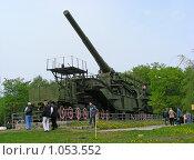 Купить «Москва. Поклонная гора. Бронепоезд», эксклюзивное фото № 1053552, снято 9 мая 2008 г. (c) lana1501 / Фотобанк Лори