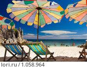 Пляж на острове. Стоковое фото, фотограф Ипполитов Александр / Фотобанк Лори