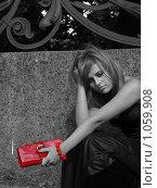 Купить «Расстроенная девушка», фото № 1059908, снято 26 августа 2009 г. (c) Троицкая Алиса / Фотобанк Лори