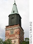 Купить «Кафедральный собор (г. Турку. Финляндия)», фото № 1061012, снято 2 августа 2009 г. (c) Александр Секретарев / Фотобанк Лори