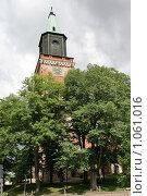 Купить «Кафедральный собор (г. Турку. Финляндия)», фото № 1061016, снято 2 августа 2009 г. (c) Александр Секретарев / Фотобанк Лори