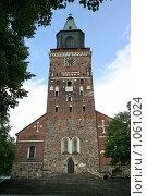 Купить «Кафедральный собор (г. Турку. Финляндия)», фото № 1061024, снято 2 августа 2009 г. (c) Александр Секретарев / Фотобанк Лори