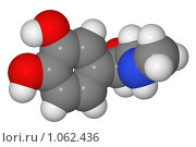 Купить «Полусферическая (объемная) модель молекулы адреналина», иллюстрация № 1062436 (c) Владимир Федорчук / Фотобанк Лори