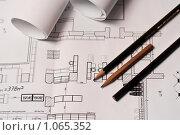 Рабочие чертежи. Стоковое фото, фотограф Константин Мартынов / Фотобанк Лори