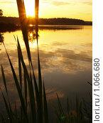 Купить «Золотой закат», фото № 1066680, снято 2 июля 2020 г. (c) Ярославский Максим / Фотобанк Лори