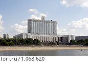 Купить «Дом правительства Российской Федерации», фото № 1068620, снято 15 июля 2008 г. (c) Андрей Ерофеев / Фотобанк Лори