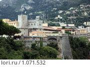 Купить «Княжество Монако. Княжеский дворец», фото № 1071532, снято 11 июля 2009 г. (c) Татьяна Лата / Фотобанк Лори