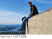 Купить «Над городом», фото № 1071696, снято 6 августа 2009 г. (c) Валерий Александрович / Фотобанк Лори