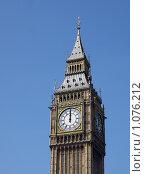 Купить «Биг-Бен, Лондон. 12 часов.», фото № 1076212, снято 11 августа 2007 г. (c) Светлана Кудрина / Фотобанк Лори