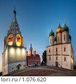 Купить «Церкви Коломенского кремля», фото № 1076620, снято 18 декабря 2018 г. (c) BestPhotoStudio / Фотобанк Лори