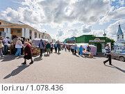 Купить «Торговые ряды в Касимове», фото № 1078436, снято 19 августа 2018 г. (c) Александр Трушкин / Фотобанк Лори