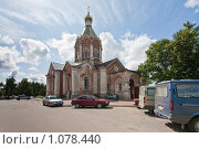 Вознесенский собор в Касимове, 18 век (2009 год). Редакционное фото, фотограф Александр Трушкин / Фотобанк Лори