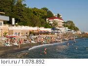 Купить «Море, набережная Сочи», фото № 1078892, снято 8 сентября 2009 г. (c) Игорь Р / Фотобанк Лори