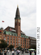 Купить «Дания. Копенгаген. Городской пейзаж.», фото № 1081352, снято 4 августа 2009 г. (c) Александр Секретарев / Фотобанк Лори