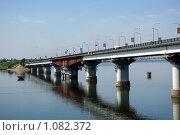 Варваровский мост (2009 год). Стоковое фото, фотограф Аркадий Хоменко / Фотобанк Лори
