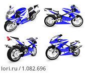 Купить «Мотоцикл будущего», иллюстрация № 1082696 (c) ИЛ / Фотобанк Лори