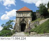 Братиславский замок (2009 год). Стоковое фото, фотограф Алина Бучинская / Фотобанк Лори