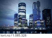 "Купить «ММДЦ ""Москва-Сити""», фото № 1085328, снято 14 июля 2009 г. (c) Роман Сигаев / Фотобанк Лори"