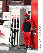 Купить «Автозаправочная станция», фото № 1087464, снято 3 сентября 2009 г. (c) Александр Николаев / Фотобанк Лори