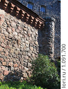 Фрагмент крепостной стены, г.Выборг (2009 год). Стоковое фото, фотограф Татьяна Иванова / Фотобанк Лори