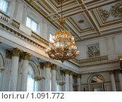 Купить «Эрмитаж в Санкт-Петербурге. Фрагмент зала.», фото № 1091772, снято 9 сентября 2009 г. (c) Алла Виноградова / Фотобанк Лори