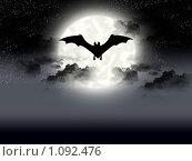 Купить «Ночное небо», иллюстрация № 1092476 (c) Наталья Быстрая / Фотобанк Лори