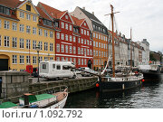 Купить «Дания. Копенгаген. Городской пейзаж», фото № 1092792, снято 4 августа 2009 г. (c) Александр Секретарев / Фотобанк Лори