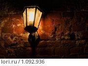 Уличный ночной фонарь. Стоковое фото, фотограф Евгения Никифорова / Фотобанк Лори