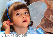 Купить «Маленькая девочка с удивлённым лицом», фото № 1097560, снято 26 августа 2009 г. (c) Даниил Петров / Фотобанк Лори